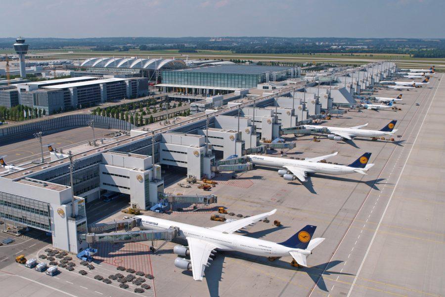 Flughafen München digitaler Prüfstand